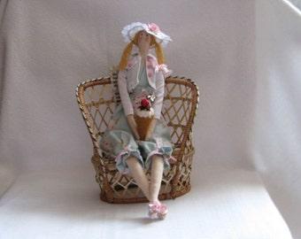 """Author's doll tilde """"Summer mood"""""""