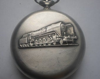 Pocket watches Молния USSR steam locomotive