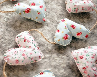 Floral Heart Bunting