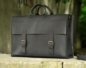 Handmade Satchel Leather Bag Messenger Genuine Leather