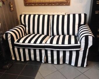 Slipcover for Ikea 2 seat Ektorp bed sofa