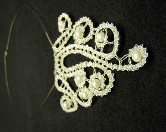 Bobbin Lace Necklace from Slovenia
