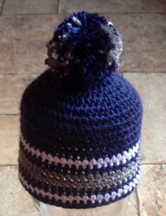 Dallas Cowboys Crochet Baby Hat Pattern : Items similar to Crocheted Dallas Cowboys Beanie Hat ...