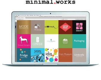 Custom web design > Website / Homepage with Portfolio for graphic designer, freelancers and artists