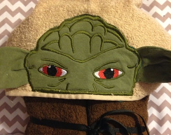 Green Force Master Hooded Towel