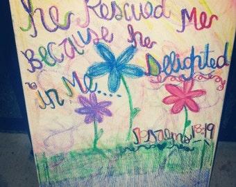 Psalms 18:19