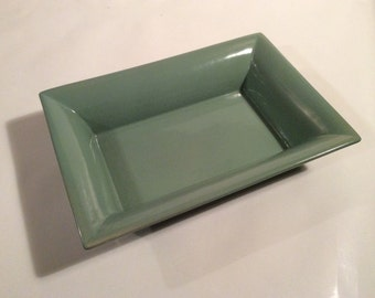 Abingdon Sage Green Rectangular Planter USA