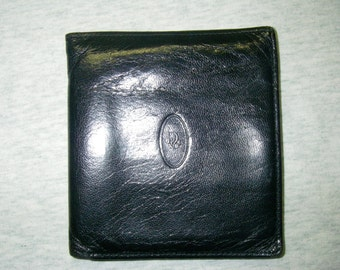 Christian Dior Monsieur Black Leather Bifold Wallet