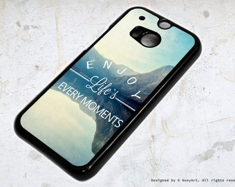 HTC ONE M8 Case - Enjoy Life's Every Moments