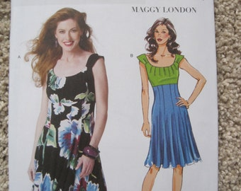 UNCUT Misses Dress by Maggy London - Butterick Sewing Pattern B5751