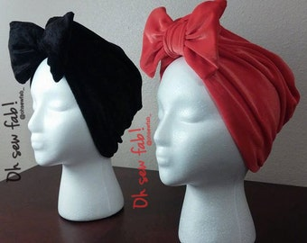 Fall/Winter Collection-Velvet Headwraps for Adults