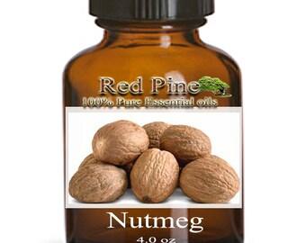 Nutmeg Essential Oil - Myristica fragrans - 100% Pure Therapeutic Grade