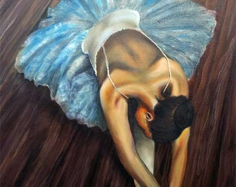 Ballerina, original painting