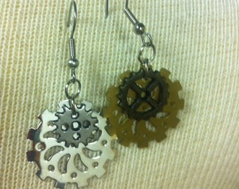 Sprocket Earrings