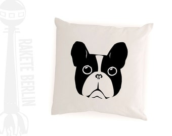 cushion cover   'french bulldog'