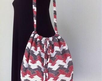 """SALE - Shoulder Bag """"Lunar Abstract"""""""