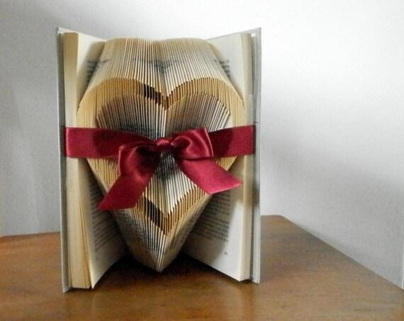 hochzeitsgeschenk papier jahrestag geschenk von bookart4u auf etsy. Black Bedroom Furniture Sets. Home Design Ideas