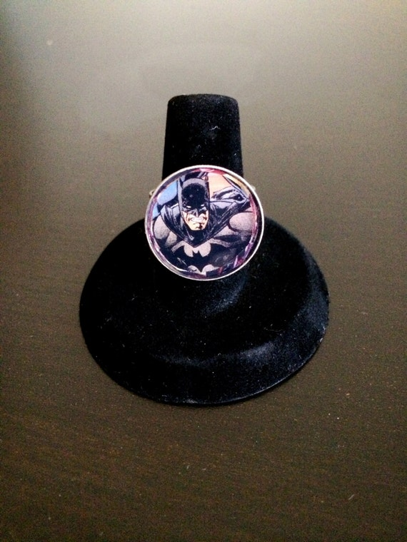 batman ring by gogeekurself on etsy