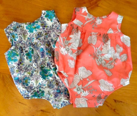 Baby Girl Romper Pdf Sewing Pattern And Photo Tutorial