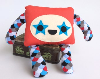 Cute Monster Soft Toy, Friendly Monster Cuddly Plush