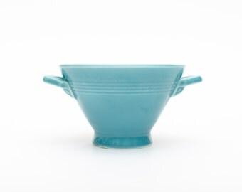 Fiesta Harlequin Turquoise Sugar Bowl