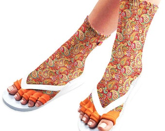 Pedisavers Pedicure Socks with Toe Separators