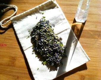 Nyx Night Goddess Tea Bath Organic All Natural Vegan Chemical Free  Relaxing Calming  Lavender Soothing Bath Soak Moon Rituals Skincare