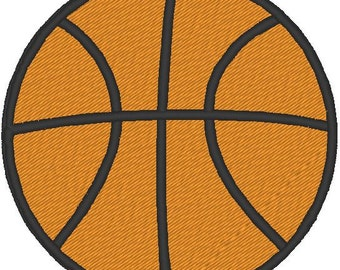 Basketball Embroidery, Basketball Embroidery Design, Sports Embroidery,Basketball.B