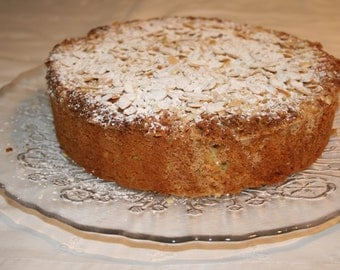 Pound Cake with Almond