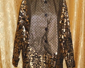 Genuine Byblos blouse!! Made in Italy !! Vintage 80's
