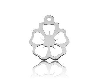 Charm HAWAIIAN FLOWER Silver 925
