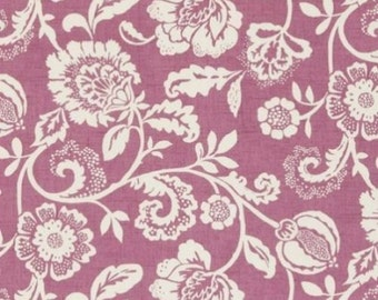 Clarke and Clarke Eliza Mulberry Designer Curtain  Fabric-137 cm Wide