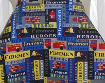 Boy's lined Fire truck / Fireman apron