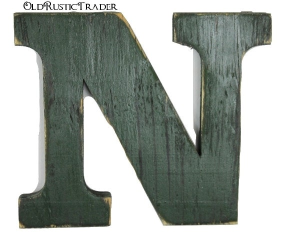 letter b wall decor rustic wall letter n home decor letter 8 inch large letter 22773 | il 570xN.699896396 c4c4