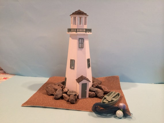 48th Scale Lighthouse Kit To Build Your Own Dolls House