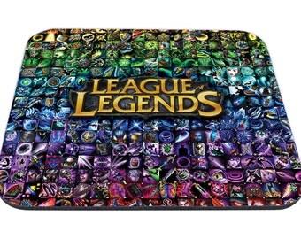 League of Legends Items Mousepad