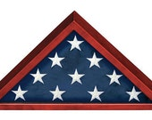 Military Memorial Flag Recognition Case, Flag Cases, Memorial Shadow Case, Personalized