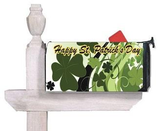 St Patrick's Day Mailbox Cover - Outdoor & Garden Decor Mailbox Wrap