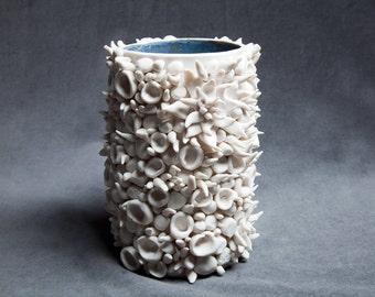 Organic texture vase