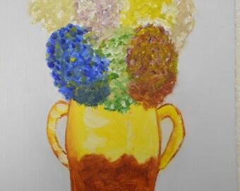 Vase flowers