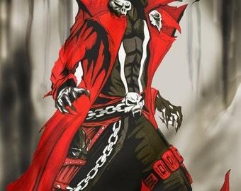 Gunslinger Spawn fan art.