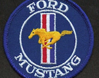 Vintage Ford Mustang Patch