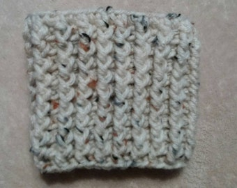 Crochet Ribbed Cup Cozy