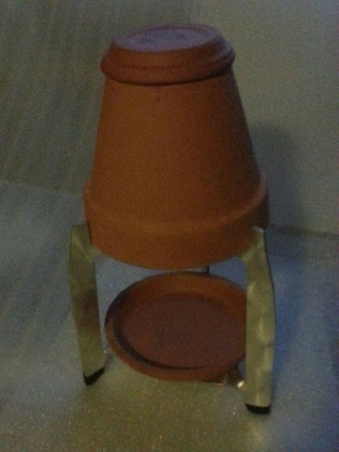 5 inch Flower Pot Heater This is a ready to use candle