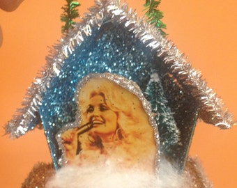 Dolly Parton Diorama Ornament