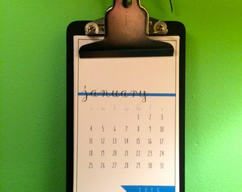 Wall/Desk Carpe Diem Calendar