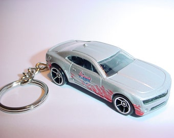 3D Chevrolet Camaro SS custom keychain keyring key chain Indy 500 pace car from 2010