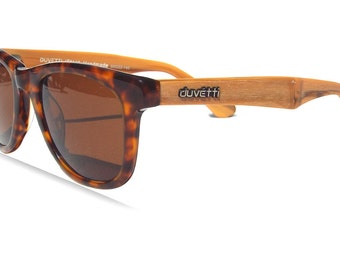 Handmade Polarized Wooden Wayfarer Sunglasses - Designed in Italy - Mens and Womens Sunglasses, DESIGNER DIRECT SALE!