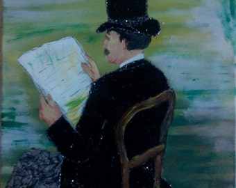 Rep - Toulouse Lautrec - Portrait of Désiré Dimau