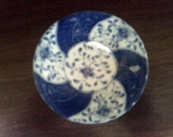 Japanese Porcelain Shallow Bowl